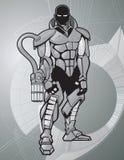 война костюма иллюстрация вектора