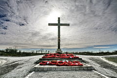 война кратера lochnagar мемориальное Стоковые Фотографии RF