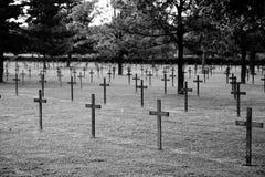 война немца кладбища Стоковые Изображения