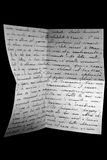 война письма стоковое фото rf