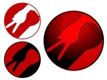 война символа мира иллюстрация штока
