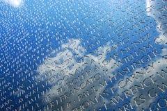 война США против Демократической Республики Вьетнам ветеранов dc мемориальное Стоковые Фотографии RF