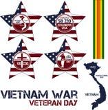 Война США против Демократической Республики Вьетнам память дня Стоковые Изображения