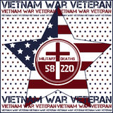 Война США против Демократической Республики Вьетнам память дня Стоковая Фотография