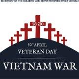 Война США против Демократической Республики Вьетнам память дня Стоковое Фото