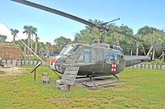 Война США против Демократической Республики Вьетнам: Iroquois вертолет Стоковые Фото