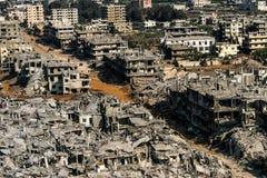 Война Хезболлы и Израиля в 2006 стоковая фотография