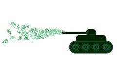 Война денег Стоковые Изображения