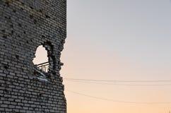 Война Russias против Украины Стоковое Изображение