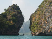 двойной остров Стоковые Фото
