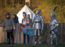 войны рыцаря s Стоковая Фотография