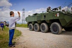 Войска НАТО готовые для международного раскрытия стоковое изображение