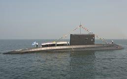 Войска дня †торжества «- военно-морской флот Россия Стоковые Изображения