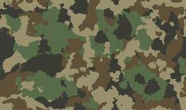 Войска текстуры камуфлируют звероловство зеленого цвета армии повторений безшовное Вектор дизайна ткани печати бесплатная иллюстрация