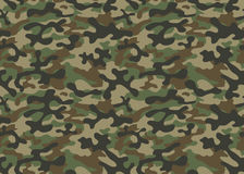 Войска текстуры камуфлируют армию повторений безшовную Стоковые Изображения