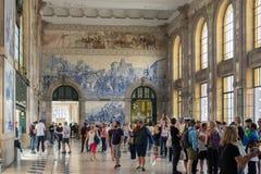 Вокзал бенто São, Порту стоковая фотография