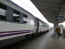 Вокзал для embarkation и дебаркации пассажиров стоковое фото rf