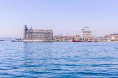 Вокзал Haydarpasa исторический - Стамбул Стоковые Изображения