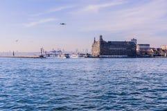 Вокзал Haydarpasa исторический - Стамбул Стоковая Фотография