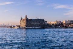 Вокзал Haydarpasa исторический - Стамбул Стоковая Фотография RF