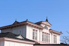 Вокзал Nikko, вероятно среди само архитектурноакустически стоковое изображение rf