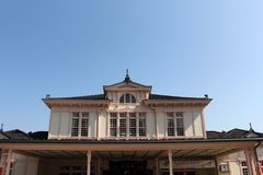 Вокзал Nikko, вероятно среди само архитектурноакустически стоковое фото rf