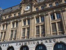 Вокзал st-Lazare в Париже Стоковое Изображение RF