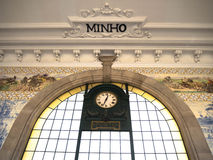 Вокзал бенто Sao, Порту, Португалия Стоковое Изображение