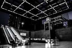 Вокзал Берлина Potsdamerplatz стоковые фото