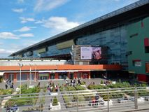 Вокзал Рима - Tiburtina Стоковые Изображения RF