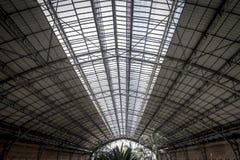 Вокзал Atocha, изображение города Мадрида, своего характера Стоковые Изображения