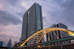 Вокзал Chong Nonsi, Бангкок Стоковое фото RF