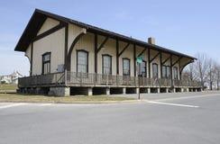 Вокзал Kutztown в Kutztown, Пенсильвании Стоковые Изображения