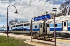 Вокзал Montréal-запада Стоковое Изображение RF