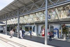 Вокзал Wengen, Швейцария Стоковая Фотография RF