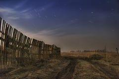 вокруг звезд летания Стоковое фото RF