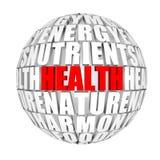 вокруг здоровья мы Стоковые Изображения