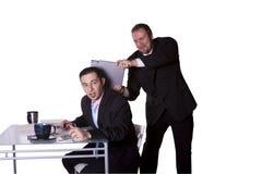 вокруг играть офиса businessme стоковое изображение