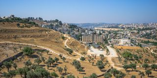 Вокруг Иерусалима Стоковая Фотография RF