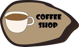 вокруг магазина кофейных чашек фасолей свежего Стоковые Изображения