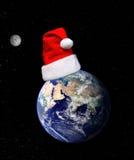 вокруг мира рождества Стоковые Фото