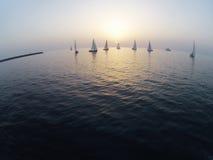 вокруг мира sailing Стоковое Фото