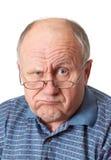 вокруг облыселого околпачивая старшия человека Стоковые Фотографии RF