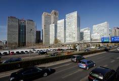 вокруг подъема cbd зданий высокого Стоковое Изображение RF