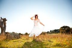вокруг танцы Стоковое Фото
