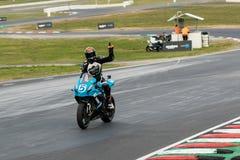 Вокруг чемпионата 3 до 2017 Superbike финансов мотора Yamaha австралийского Стоковое Изображение RF
