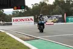 Вокруг чемпионата 3 до 2017 Superbike финансов мотора Yamaha австралийского Стоковые Фотографии RF
