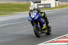 Вокруг чемпионата 3 до 2017 Superbike финансов мотора Yamaha австралийского Стоковые Изображения RF