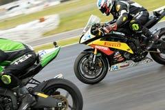 Вокруг чемпионата 3 до 2017 Superbike финансов мотора Yamaha австралийского Стоковые Изображения