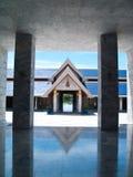 вокруг pagoda конца 9 здания Стоковые Фото